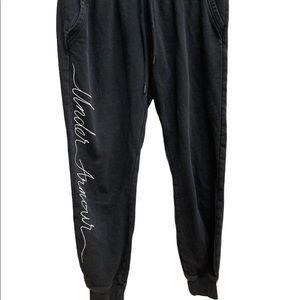 Under armor black sweat pants